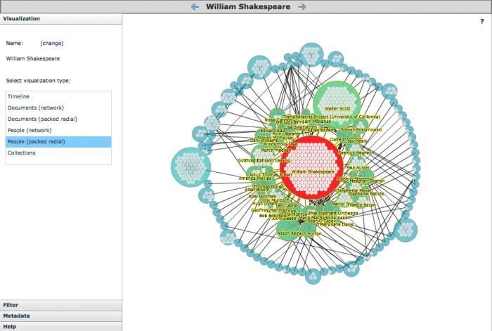 Screenshot of RoSE interface.
