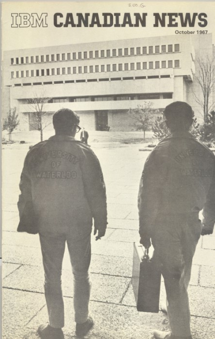 Mathematics and Computer Building, University of Waterloo, IBM Canadian News, October 1967.