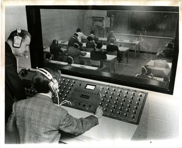Mitchell_Hall Building language lab late 60s
