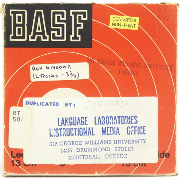Image 4: Tape Cover Language Laboratories with RT number