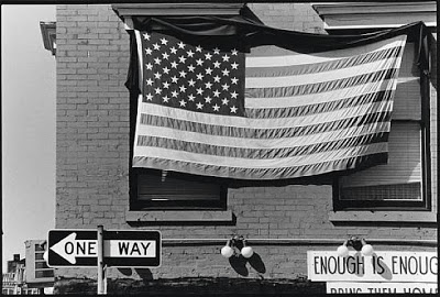 Robert Rauschenberg - Untitled (American Flag, Enough Is Enough), 1980